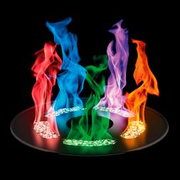 Набор для опытов ТРЮКИ НАУКИ Огненная радуга