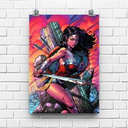 Постер Wonderwoman