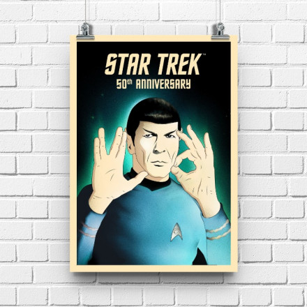 Постер Star Trek Spock