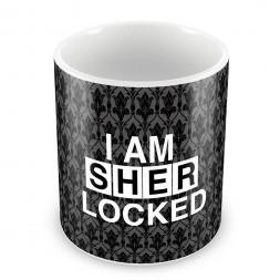 "Кружка ""I am SHERlocked"""