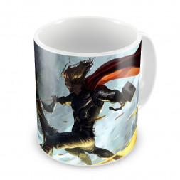 Кружка Thor vs Loki