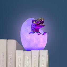Светильник Динозавр в яйце Тиранозавр