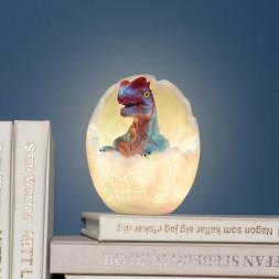 Светильник Динозавр в яйце Дилофозавр