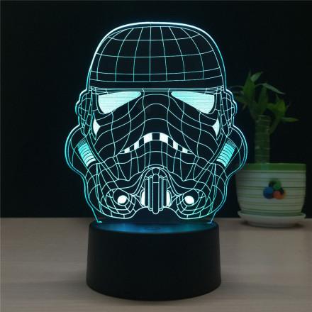 3D светильник Штурмовик