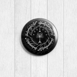 Значок круглый Эльфийский