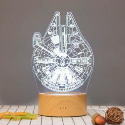3D светильник Тысячелетний сокол