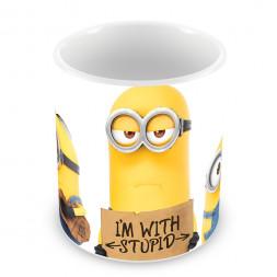 """Кружка """"I'm with Stupid"""""""