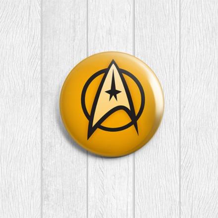 Значок круглый Star Trek