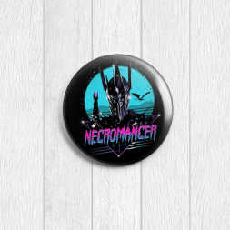 Значок круглый Necromancer