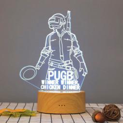3D светильник PUBG