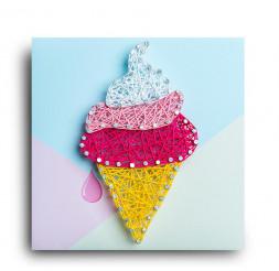 Стринг арт STRING ART LAB Мороженка